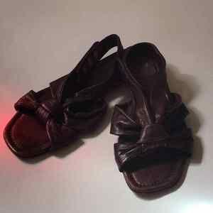 Sigerson Morrison Brown Ankle Strap 8.5 Sandals